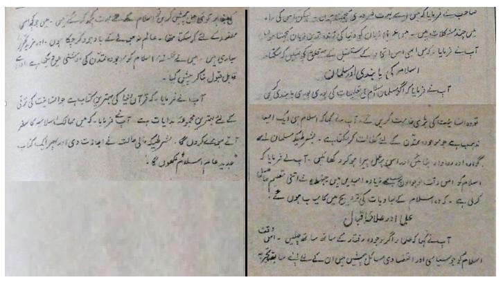 علامہ اقبال انٹرویو - انقلاب - 3